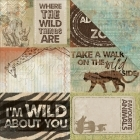 scrapbooková čtvrtka - Safari Into The Wild Kaisercraft