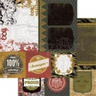 scrapbooková čtvrtka - What´s Up Attitude! KaiserCraft
