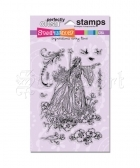 Fairy Queen Clear Stamps - Stampendous