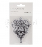 silikonové razítko - Clear Stamp Decorative Accent - KaiserCraft