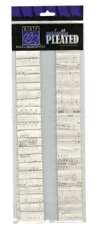 Perfectly Pleated Sheet - Music - Bazzill Basic Paper