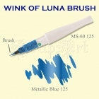 Wink of Luna Brush Blue Metallic - Kuretake