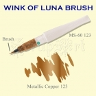 Wink of Luna Brush Copper Metallic - Kuretake