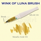 Wink of Luna Brush Gold Metallic - Kuretake