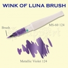 Wink of Luna Brush Violet Metallic - Kuretake