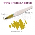 Wink of Stella Brush Gold Glitter - Kuretake