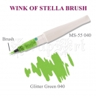 Wink of Stella Brush Green Glitter - Kuretake