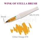 Wink of Stella Brush Orange Glitter - Kuretake