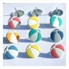 svorky - Beach Ball Brads - Eyelet Outlet