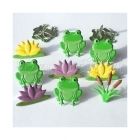 svorky - Frog Mix Brads Eyelet Outlet