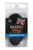 Really Big Brads 25mm Black - Bazzill Basic Paper