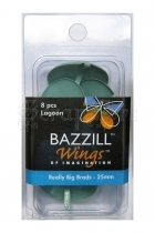 Really Big Brads 25mm Lagoon - Bazzill Basic Paper
