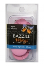 Really Big Brads 25mm Petunia - Bazzill Basic Paper