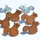 Squirrel Brads - Eyelet Outlet