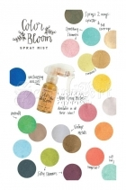 Color Bloom Spray Sparkling Pastels Cotton Candy Prima Marketing Inc.