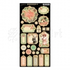 Time To Celebrate Chipboard Die-Cuts Decorative Tags - Graphic 45
