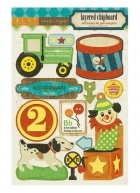 Toy Box - Layered Chipboard - Crate Paper