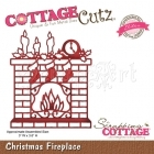 Christmas Fireplace (Elites) CCE-032 - CottageCutz