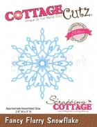 Fancy Flurry Snowflake CCE-037 - CottageCutz