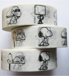 Washi páska - Dog Snoopy Washi Tape
