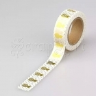 Washi páska - Gold Pineapple Foil Washi Tape