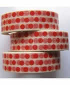 Washi páska - Red Dots Washi Tape