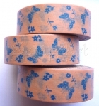 Washi Tape - Butterflies Blue