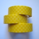Washi Tape - Chessboard Yellow