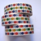 Washi Tape - Colored Dots