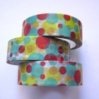 Washi Tape - Dots Colored