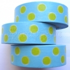 Washi Tape - Dotted - Blue and Green