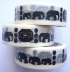 Washi Tape - Elephants