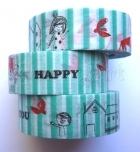 Washi Tape - Happy