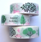 Washi Tape - Happy Holiday