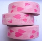 Washi Tape - Hearts Pink