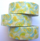 Washi Tape - Summer Paisley