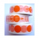 Washi Tape - Planets Orange