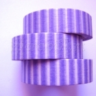 Washi Tape - Strips Purple