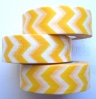 Washi Tape - Zig Zag - Yellow
