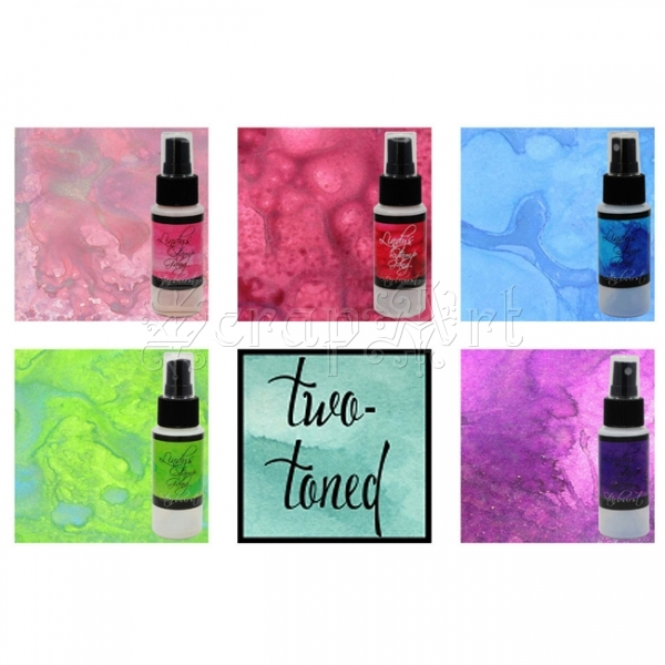 Two-toned Sprays - Starburst Lindy´s Stamp Gang