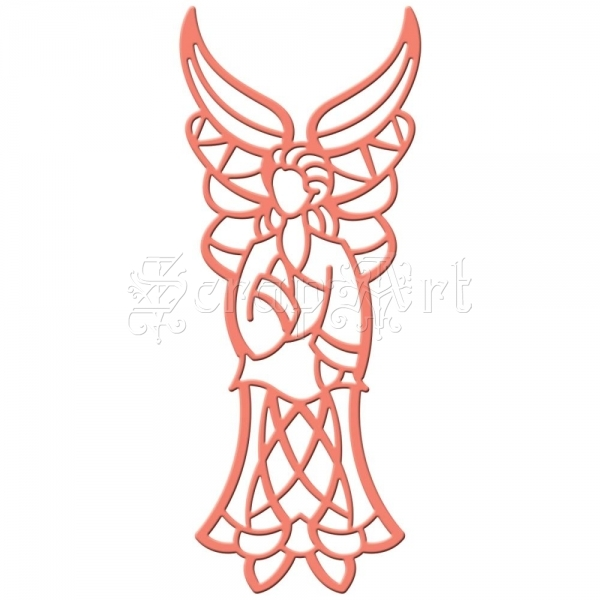 Shapeabilities Die D-Lites Holiday Angel - Spellbinders