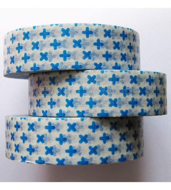 Washi páska - Blue Plus Washi Tape