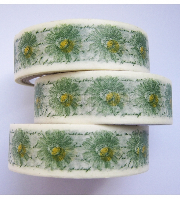 Washi páska - Daisy Washi Tape