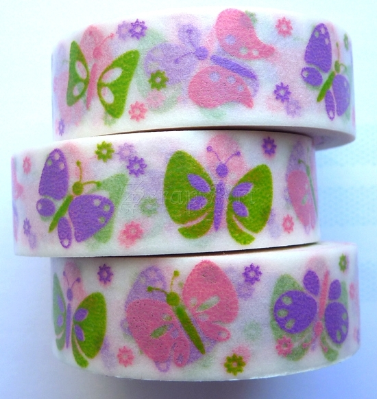 Washi Tape - Colorful Butterflies