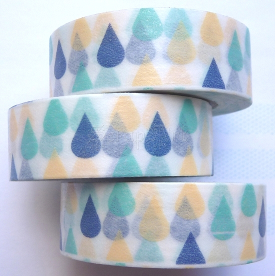 Washi Tape - Drops