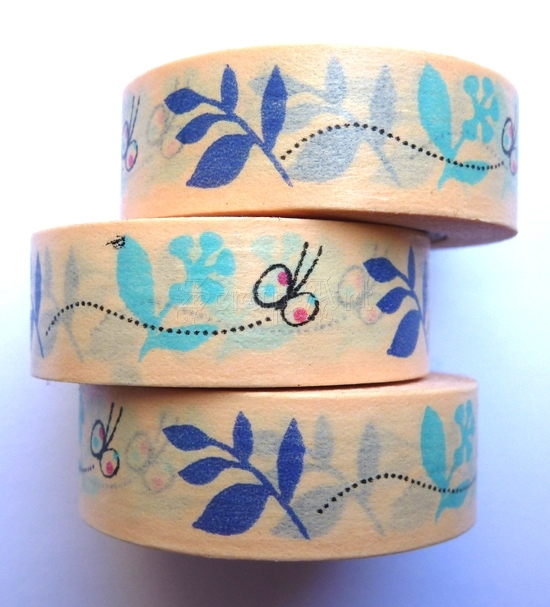 Washi Tape - Flying Butterfly