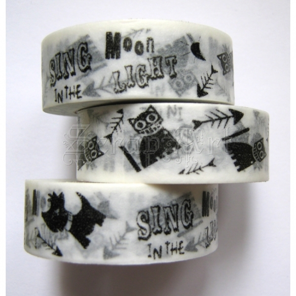 Washi Tape - Sing in the Moonlight